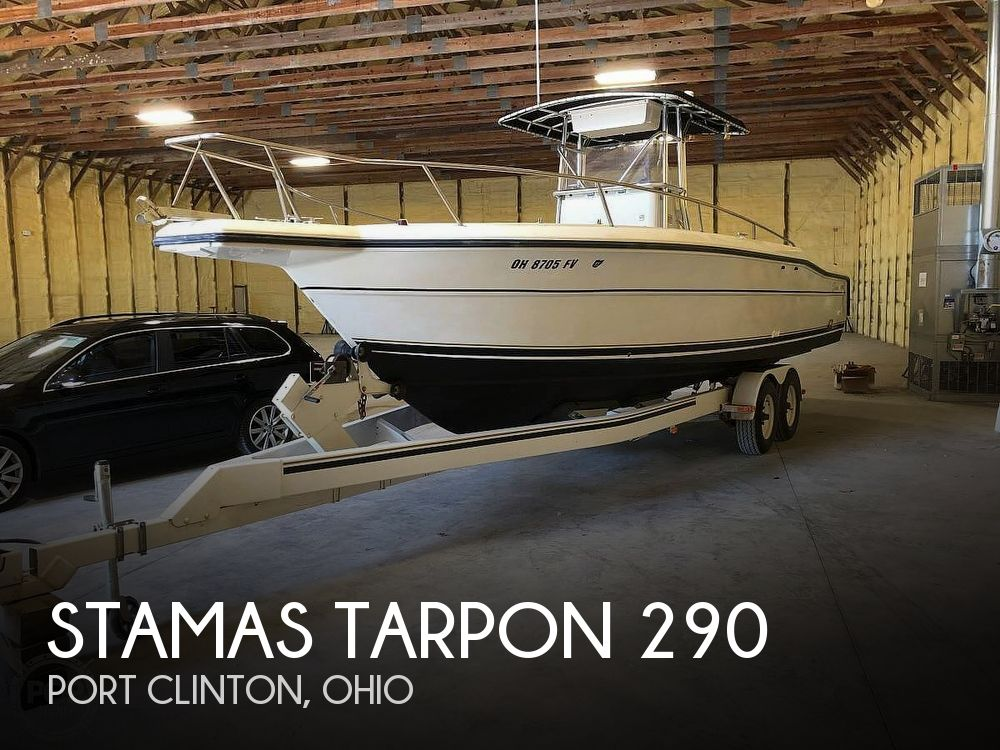 Used Stamas Boats For Sale in Ohio by owner | 1997 Stamas Tarpon 290