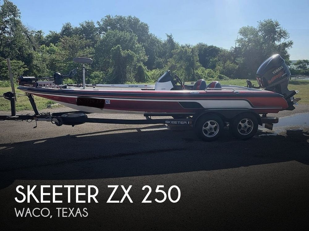 Used Skeeter Boats For Sale in Texas by owner | 2004 Skeeter ZX250