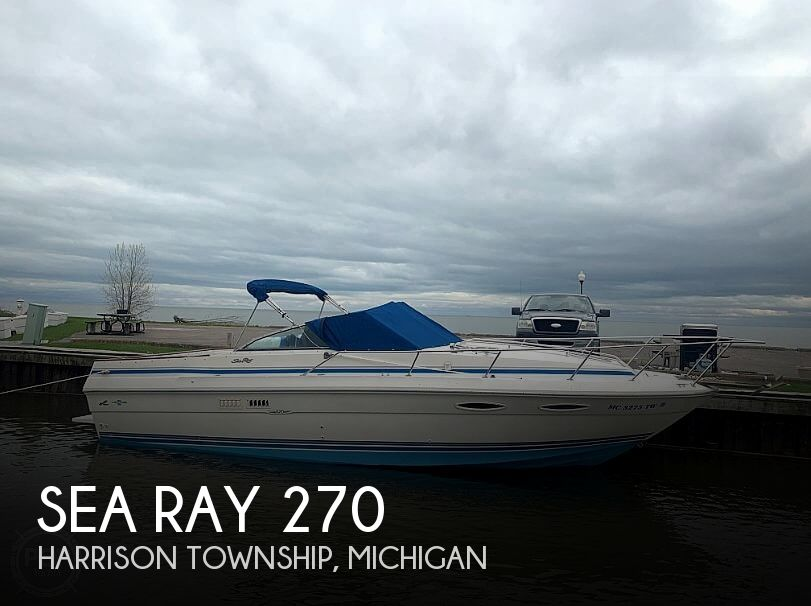 Used Sea Ray Boats For Sale in Flint, Michigan by owner | 1990 Sea Ray 27