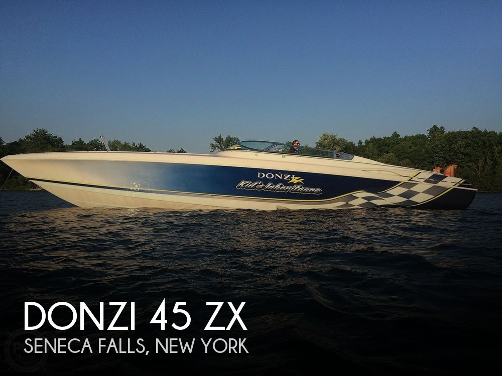 Used Boats For Sale in Syracuse, New York by owner | 2001 Donzi 45zx
