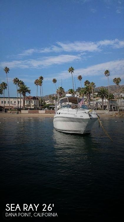 Used Sea Ray Boats For Sale in San Diego, California by owner | 1999 Sea Ray 260 Sundancer