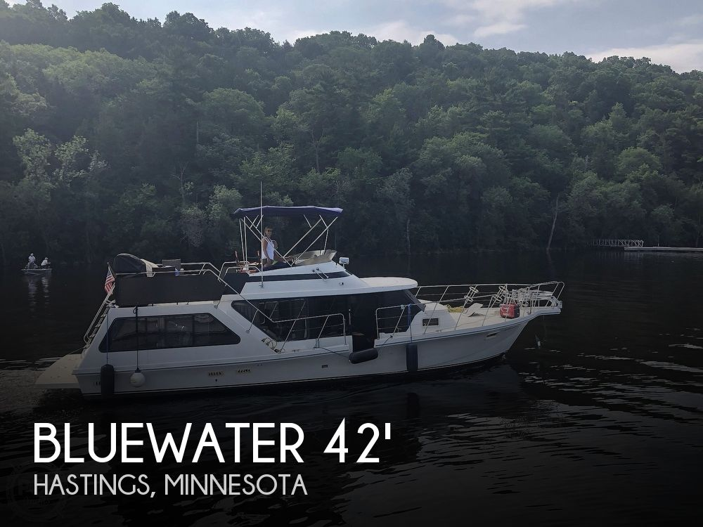 Used Houseboats For Sale in Minnesota by owner | 1984 Bluewater 42