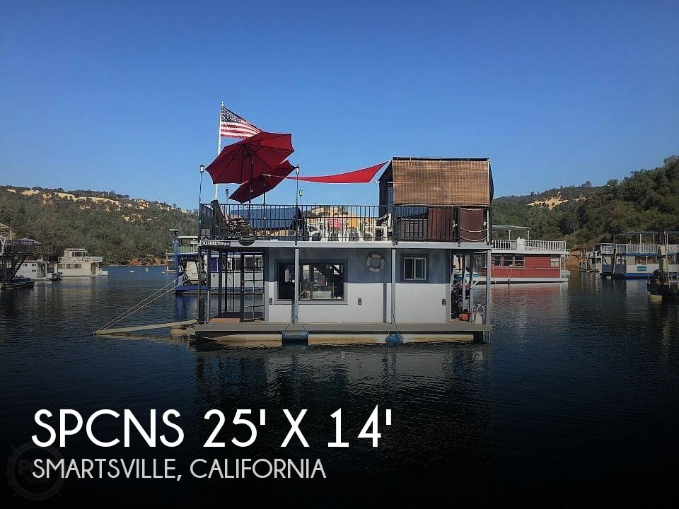 Used Houseboats For Sale in California by owner | 2000 Spcns 25