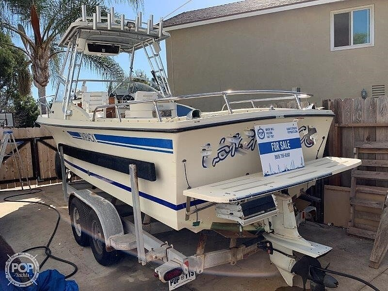 1980 Skipjack boat for sale, model of the boat is 24 Open & Image # 8 of 40