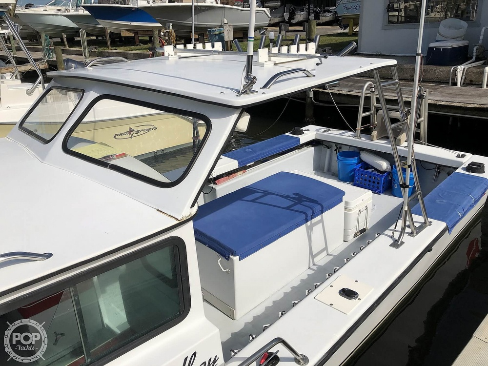 1990 C-Hawk boat for sale, model of the boat is 25 & Image # 4 of 40