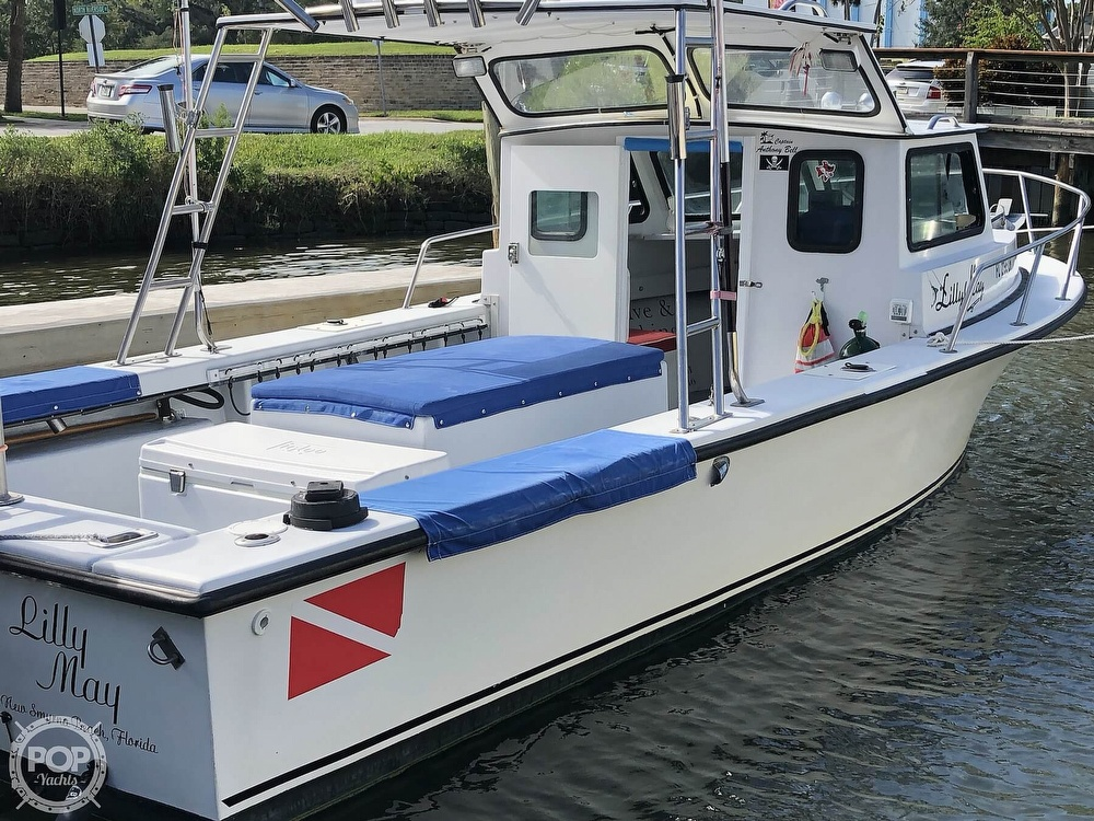 1990 C-Hawk boat for sale, model of the boat is 25 & Image # 2 of 40