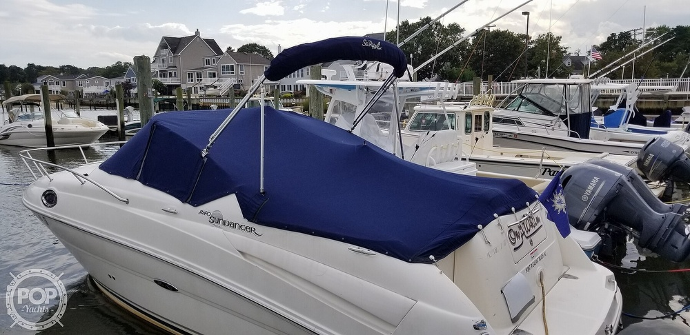 2007 Sea Ray boat for sale, model of the boat is 240 Sundancer & Image # 5 of 40