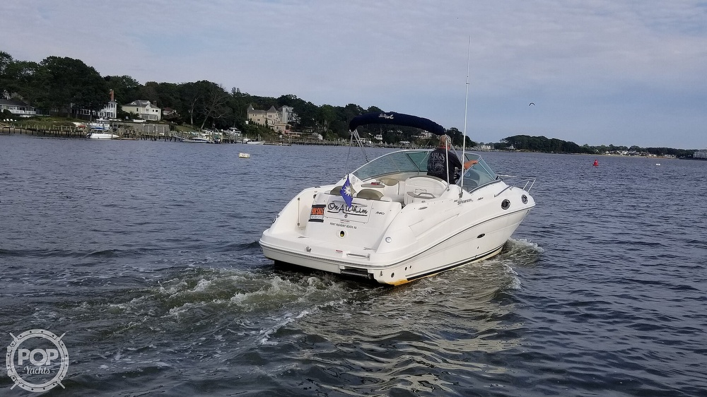 2007 Sea Ray boat for sale, model of the boat is 240 Sundancer & Image # 36 of 40