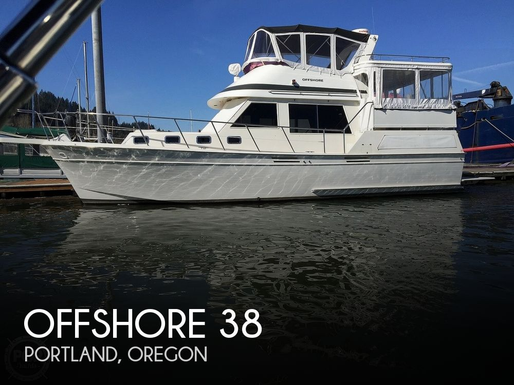 Used Boats For Sale in Oregon by owner | 1987 Offshore 38