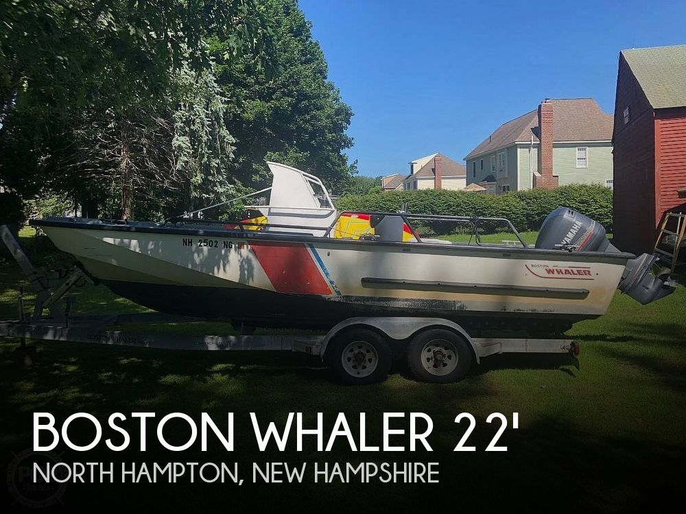 Used Boston Whaler 22 Boats For Sale by owner | 1987 Boston Whaler 22 Guardian