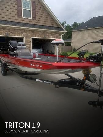 Used Power boats For Sale by owner | 2009 Triton 19