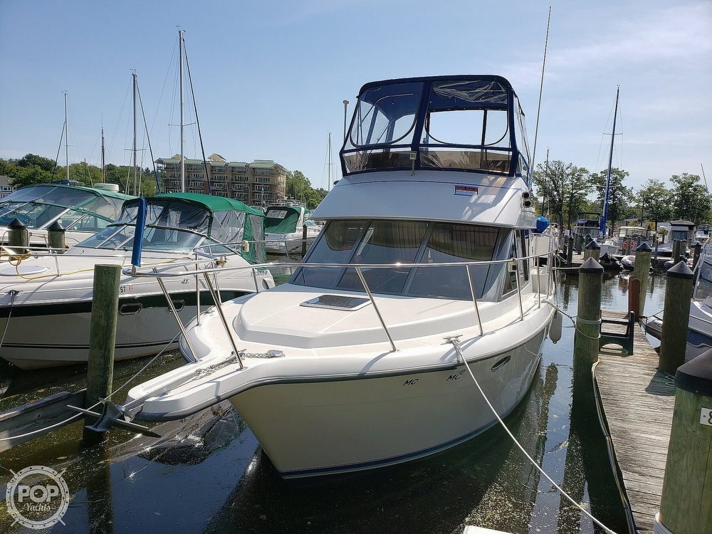 1994 Carver boat for sale, model of the boat is 300 Aft Cabin & Image # 6 of 40