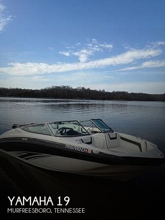 Used Yamaha Ski Boats For Sale in Tennessee by owner | 2015 Yamaha 19