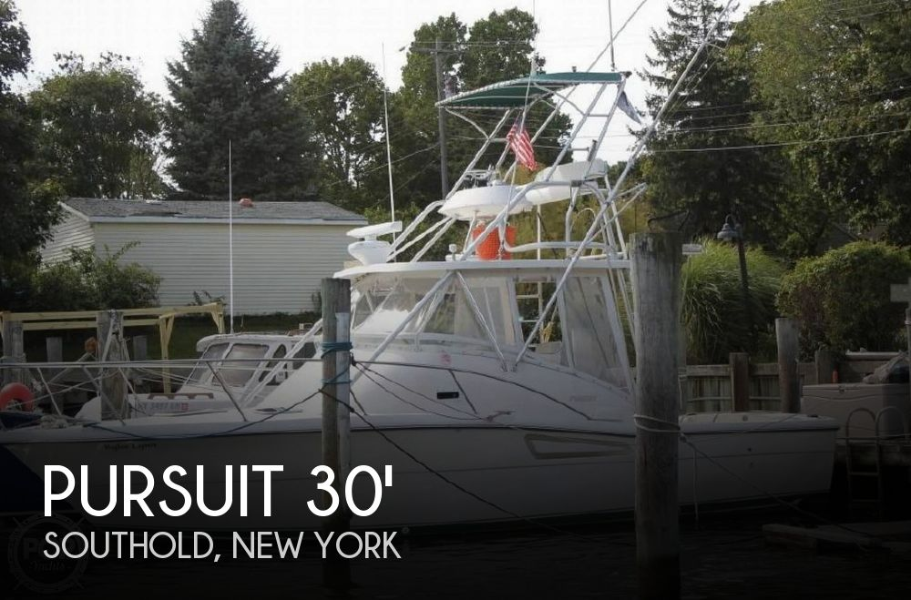 Used Boats For Sale in Providence, Rhode Island by owner | 1996 Pursuit 30