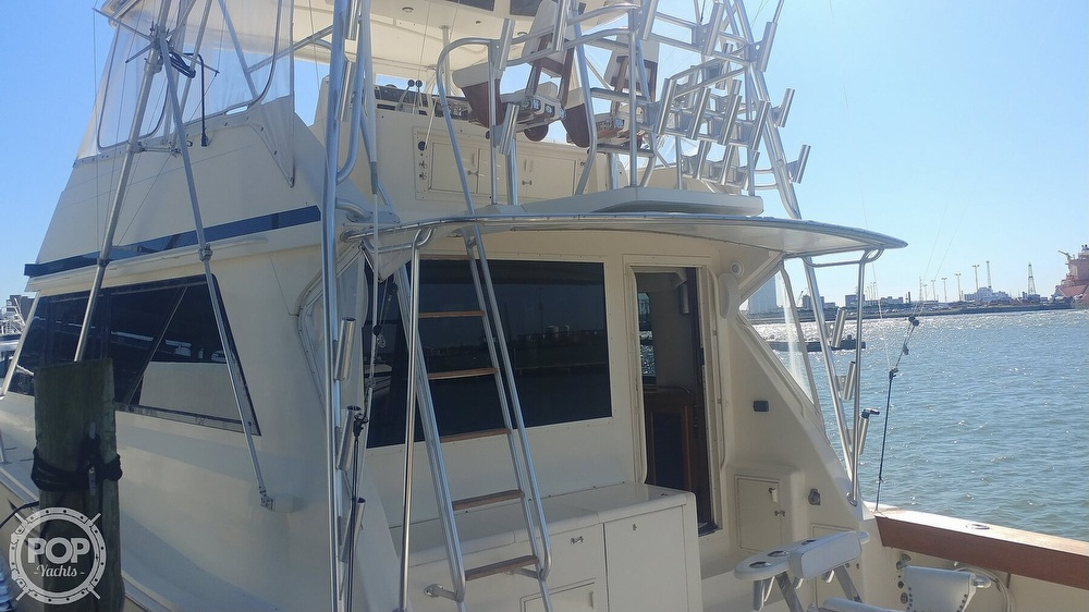 1990 Viking boat for sale, model of the boat is 53 Convertible Sport Fisherman & Image # 8 of 40