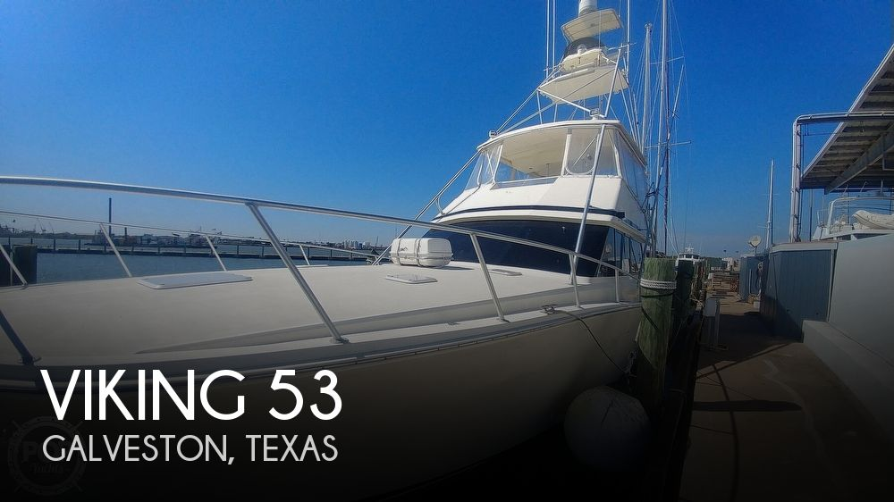 1990 Viking boat for sale, model of the boat is 53 Convertible Sport Fisherman & Image # 1 of 40