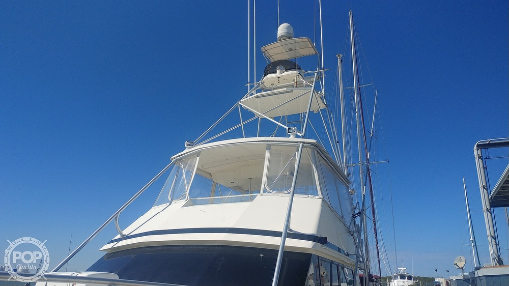 1990 Viking boat for sale, model of the boat is 53 Convertible Sport Fisherman & Image # 16 of 40