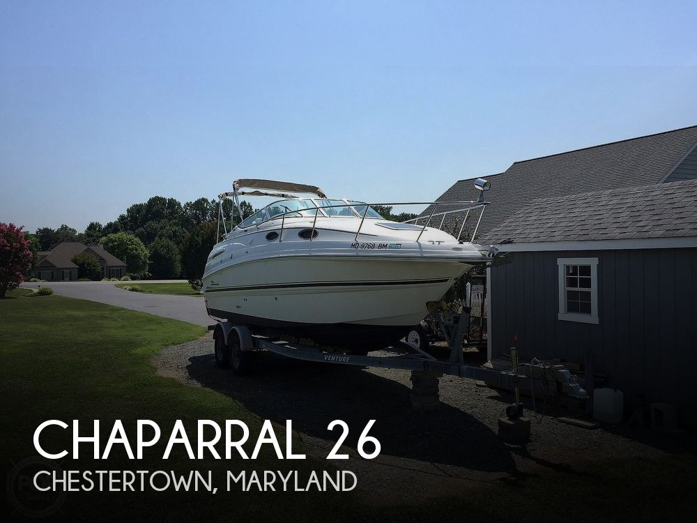Used Chaparral Boats For Sale in Maryland by owner | 2002 Chaparral 26