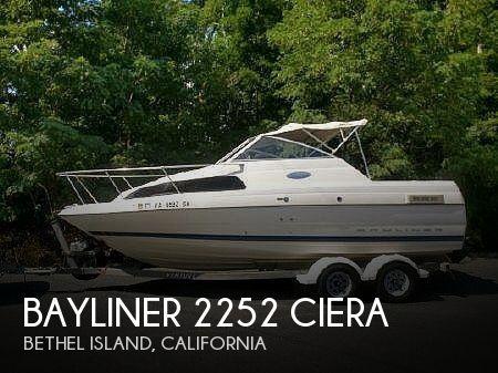 Used Bayliner 22 Boats For Sale by owner | 2003 Bayliner 2252 CIERA