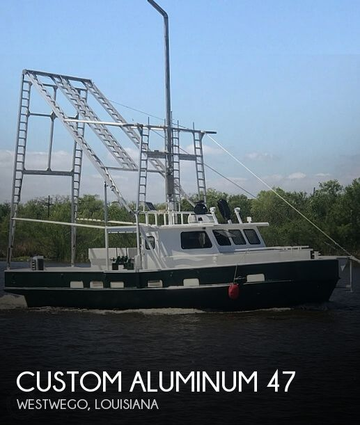 2017 Custom Aluminum boat for sale, model of the boat is 47 Shrimping Skiff & Image # 1 of 40