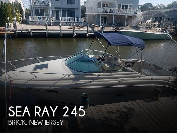 Used Sea Ray 245 Boats For Sale by owner | 2005 Sea Ray 245 Weekender