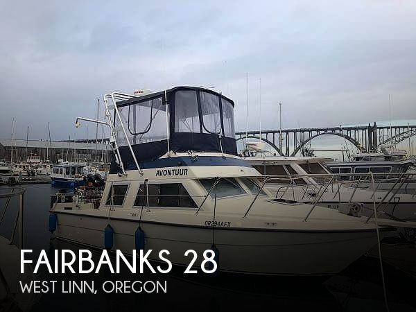 Used Fairbanks Boats For Sale by owner   1989 Fairbanks 28