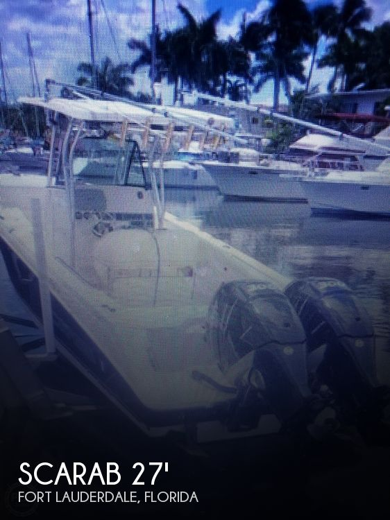 Used Scarab Boats For Sale by owner | 2009 Scarab 27