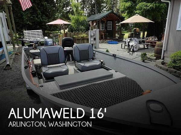 Used Alumacraft Boats For Sale in Washington by owner | 2016 Alumaweld 16
