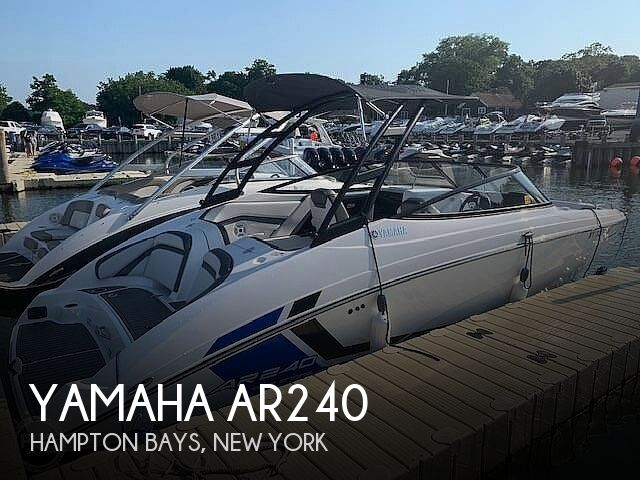 2018 Yamaha boat for sale, model of the boat is AR240 & Image # 1 of 41