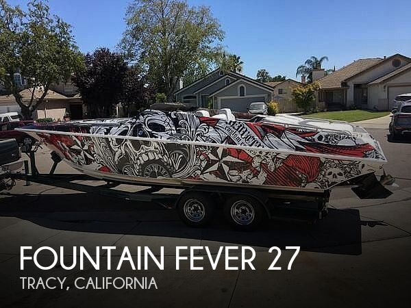 Used Boats For Sale in Merced, California by owner | 1996 Fountain 27