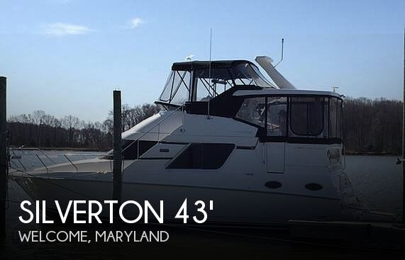 Used Silverton Boats For Sale in Maryland by owner | 2002 Silverton 392 Aft cabin