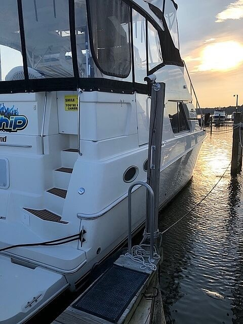 2002 Silverton boat for sale, model of the boat is 392 Aft cabin & Image # 6 of 41