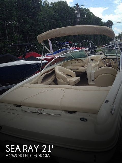 Used Sea Ray signature Boats For Sale by owner | 2001 Sea Ray 210 Signature