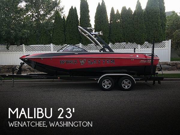 Used MALIBU Boats For Sale in Washington by owner | 2011 23 foot Malibu Malibu Wakesetter