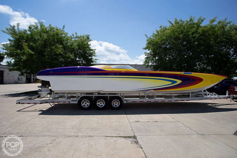 2004 MTI boat for sale, model of the boat is 39 R/P & Image # 20 of 40
