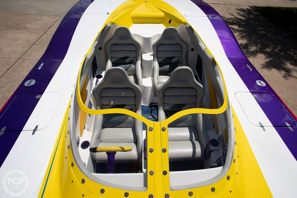 2004 MTI boat for sale, model of the boat is 39 R/P & Image # 31 of 40