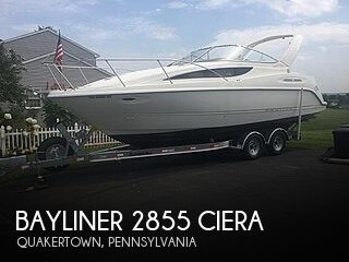 Used Bayliner Boats For Sale in Philadelphia, Pennsylvania by owner | 2001 Bayliner 2855 Ciera