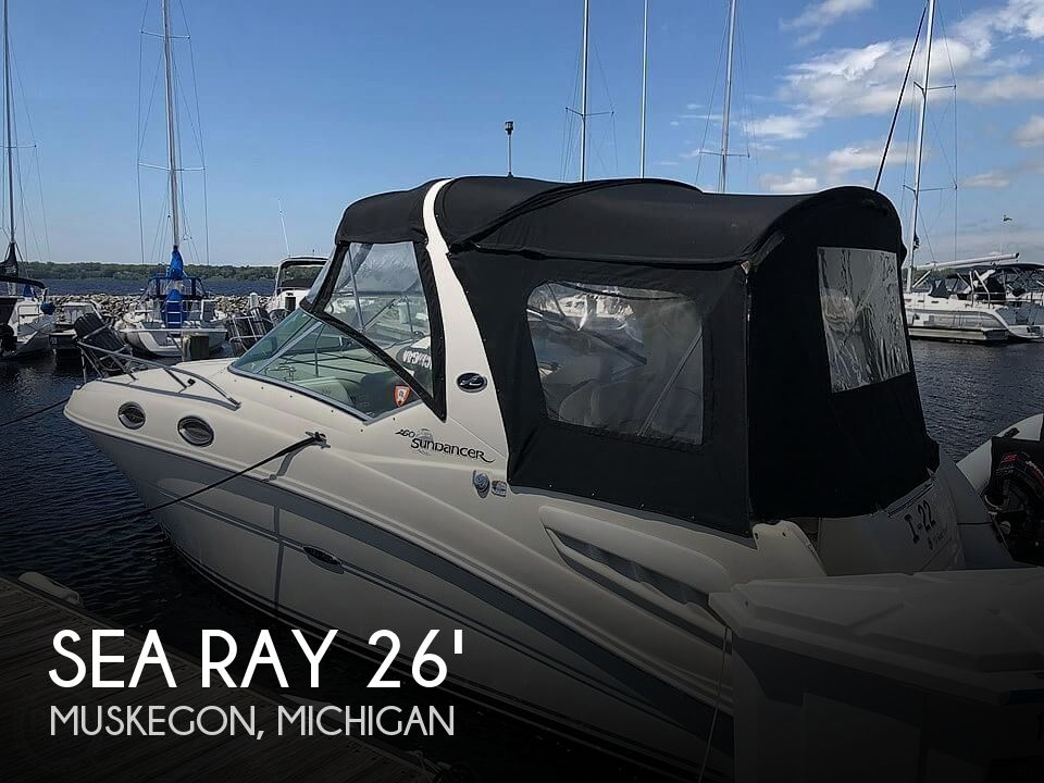 Used Sea Ray Boats For Sale in Michigan by owner | 2005 Sea Ray 260 Sundancer