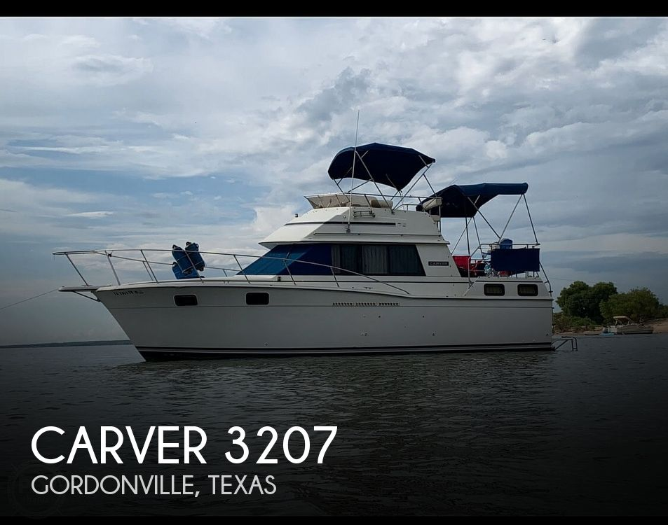 Used Carver 3207 Boats For Sale by owner | 1984 Carver 3207