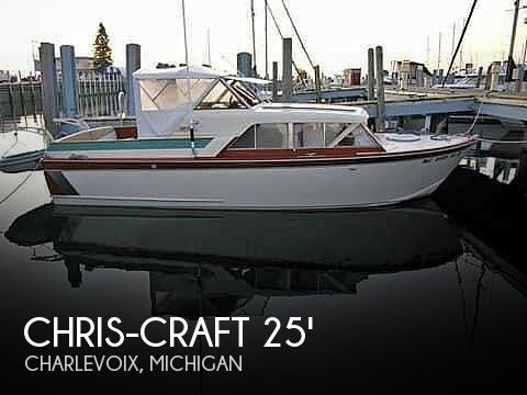 Used Chris-Craft Boats For Sale in Michigan by owner | 1961 25 foot Chris-Craft Cavalier