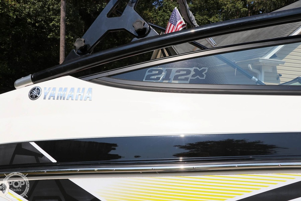 2015 Yamaha boat for sale, model of the boat is 212X & Image # 24 of 40