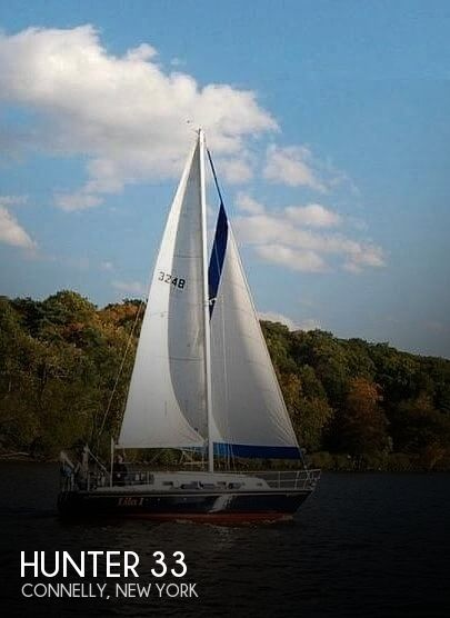Used Hunter Sailboats For Sale in New York by owner   1982 33 foot Hunter Cherubini