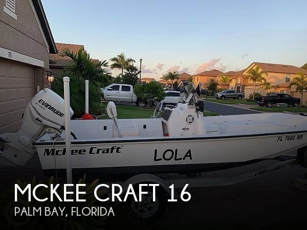 Used Mckee craft Boats For Sale by owner | 2014 Mckee Craft 16