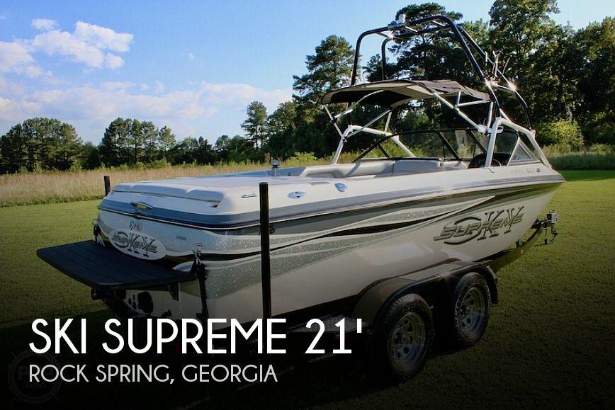 Used Ski supreme Boats For Sale by owner | 2001 21 foot Ski Supreme V PRO SKY