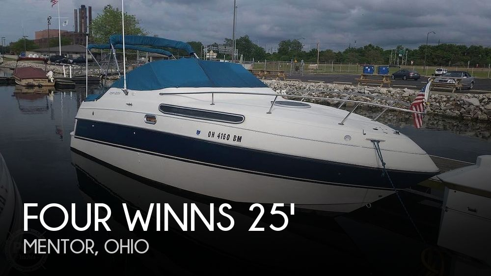 Used Four Winns 258 Vista Boats For Sale by owner | 1994 Four Winns 258 Vista