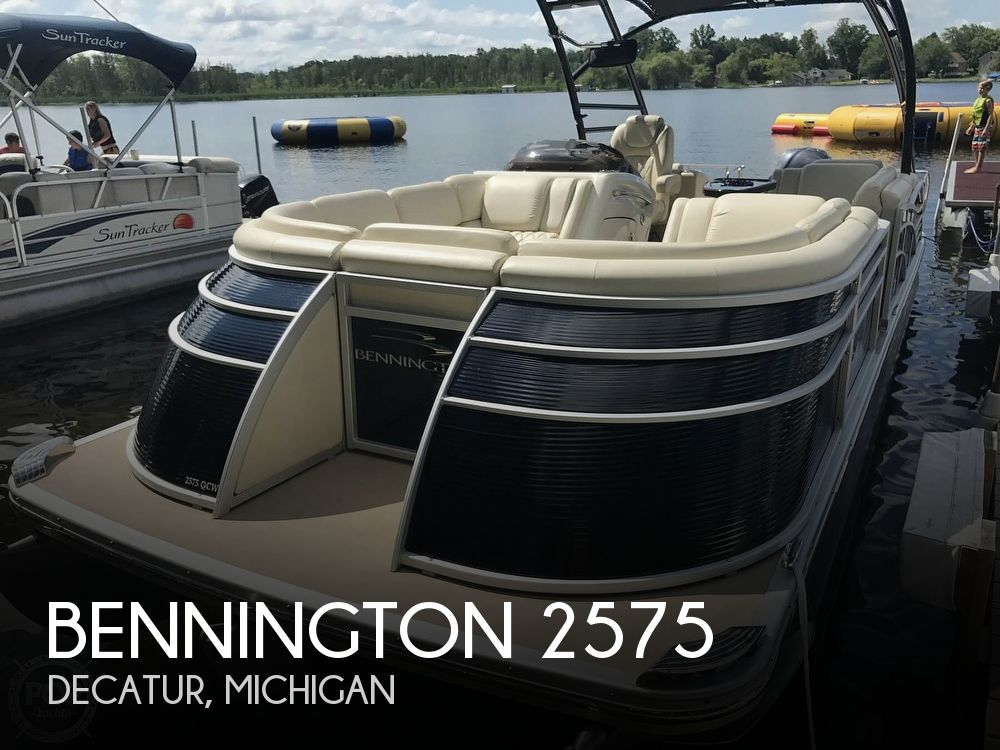 Used Boats For Sale in Kalamazoo, Michigan by owner | 2013 Bennington 2575 QCWT