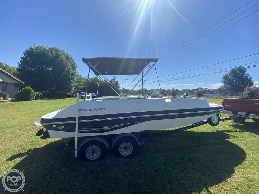 2003 Starcraft boat for sale, model of the boat is Aurora 2000 & Image # 38 of 40