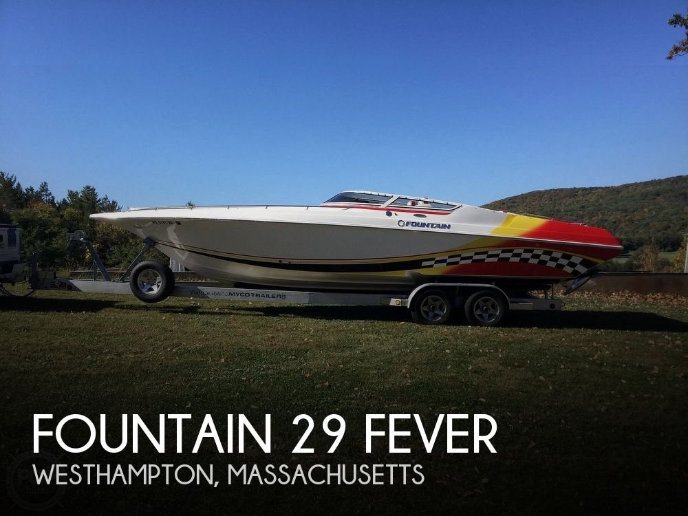 2005 Fountain boat for sale, model of the boat is 29 FEVER & Image # 1 of 40