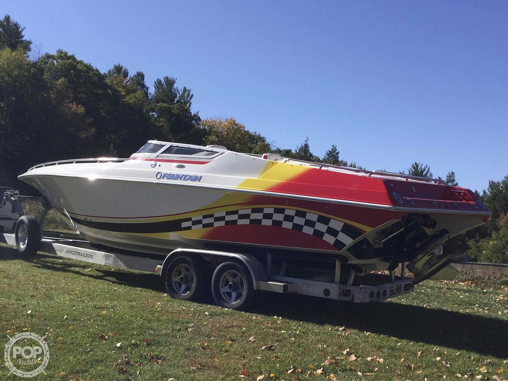 2005 Fountain boat for sale, model of the boat is 29 FEVER & Image # 14 of 40