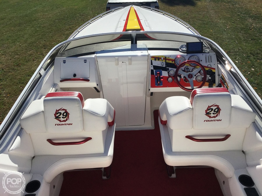 2005 Fountain boat for sale, model of the boat is 29 FEVER & Image # 6 of 40
